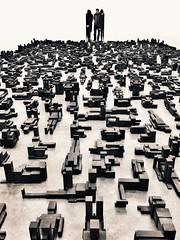 Gormless (Nad) Tags: bodies metal gallery art sculpture gormley