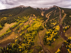 Flagstaff-0331-HDR (Michael-Wilson) Tags: arizona flagstaff michaelwilson autumn aspen trees aspens yellow fall snowbowl aerial drone phantom4 djiphantom peaks sanfranciscopeaks humphrey snow tram ski runs chairlift