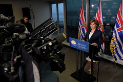 Premier's statement on pipeline decisions (BC Gov Photos) Tags: pipeline justintrudeau northerngateway kindermorgan marinespill landspill christyclark jobs heavyoil oceanprotection