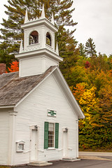 Stark NH (blackseal35) Tags: 2016 24105l canon canonti1 cooscounty errol fall nh newhampshire northwoods stark whitemountains c church color colorful colors leafpeeping leaves mountains river roadtrip stream view water woods