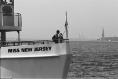 Miss liberty (Ioannis the graecum) Tags: canon a1 adox silvermax 100 new york city liberty island statue fd lens epson v850 135mm f28