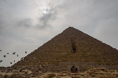 Gizah, Egypt (stefan_fotos) Tags: afrika architektur gizeh kairo pyramide qf urlaub hq ägypten egypt africa gizah pyramid mykerinos menkaure cairo