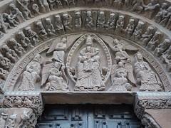 fachada Iglesia Santo Domingo antes Santo Tomé Soria 07 (Rafael Gomez - http://micamara.es) Tags: detalles de la fachada iglesia santo domingo antes tomé soria