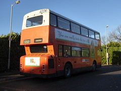 Preserved GM Buses 4706 A706 LNC (Rear) (sambuses) Tags: preserved 4706 gmbuses a706lnc