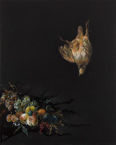 Emma Bennett 'Hold Still', 2016 Oil on canvas 50x40cm