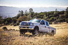 FORD F350 6.0 (littlebirdyfly) Tags: ford truck offroading bigrig f50 60 lariat diesel powerstroke boost launch socal country towing california santabarbara figmountain sanynez