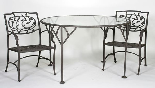 Cast Iron Patio Table w/ 4 Chairs ($291.20)