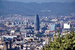 Torre Agbar (Yuri Rapoport) Tags: torreagbar 2012 barcelona catalonia spain montjuicmountain