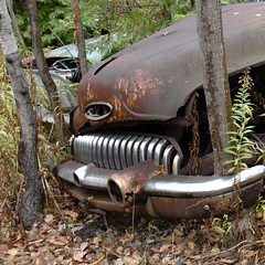 DSC_0193 v2 (collations) Tags: ontario mcleansautowreckers autowreckers wreckers automobiles autos abandoned rockwood derelict junkyards autograveyards carcemeteries