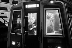last car reader (JEO Photography) Tags: street streetphotography metro subte subway underground tube car reader readersii film believeinfilm filmphotography filmisnotdead ishootfilm analog dualtone monochrome grayscale blackandwhite nikonn90s nikon n90s kodaktrix400 kodak400tx 400tx 35mm 135