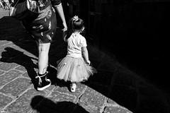 """Naples #7 (enzo marcantonio) Tags: q blackwhite italy leica streetphoto streetphotography summilux bw napoli italia blackandwhite leicaq naples shadow baby dancer """"bianco e nero"""" monocromo città napoletani spaccanapoli"""