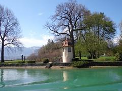 THUN - (Svizzera) - EXPLORE (cannuccia) Tags: paesaggi landscape svizzera suisse switzerland laghi alberi explore