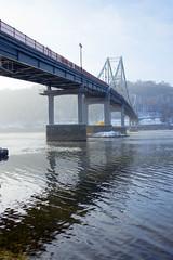 _DSC0249 (Artem_Kotenko) Tags: sony a77 a77v minolta 2485 2485mm kyiv winter autumn sun river bridge park snow cold portrait water walkway