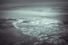 cloudscape VI (*altglas*) Tags: cloudscape cloudscapes ir infrared infrarot clouds wolken monochrome