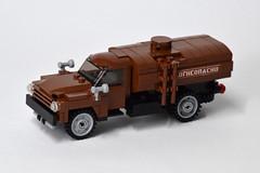 ZIL-130 Fuel Truck (1) (Dornbi) Tags: lego zil truck zil130 soviet fuel ground vehicle