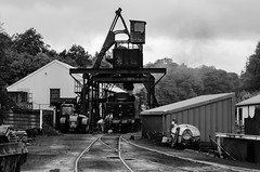 Filling up with coal (BL1956) Tags: grosmont england unitedkingdom gb train northyorkshire trainshed steamtrain northyorkmoorsrailway nikon d7000 dslr
