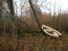 ylisjarvi18 (Kola-apsa) Tags: ylisjrvi muurla salo boat forest shore abandoned