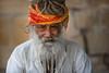Inde: Rajasthan, le saddhu de jaisalmer. (claude gourlay) Tags: inde india asie asia azie indedunord northindia claudegourlay sadhu saddhu sadou hindu hindouisme religion face people portrait retrato ritratti jaisalmer rajasthan