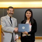 "Associate Professor Robert Wickesberg, Hoi Ting ""Cheryl"" Wan: Distinction in Psychology"