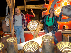 Loggers Yard by Eclipse Carnival Club. (David James Clelford Photography) Tags: loggersyard eclipsecarnivalclub northpetherton northpethertonguyfawkescarnival2016 carnival fitbabes prettywoman attractiveladies girls beauties