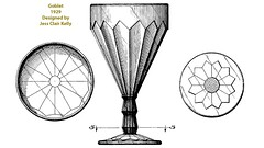 1929 Goblet (Guernsey County Historical Society) Tags: cambridgeglass patent