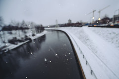 Let It Snow | Kaunas #335/365 (A. Aleksandraviius) Tags: snow river white city abstract kaunas lietuva lithuania nikon nikond810 d810 1424mm 1424 nikkor 365days 3652016 2016 365 project365 335365