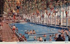 Butlins Bognor Regis - Indoor swimming pool (trainsandstuff) Tags: butlins bognorregis holidaycamp vintage retro old history archival holidaycentre swimming swimmingpool pool