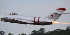 MiG-17 Fresco (Jays and Jets) Tags: mig fresco jet fighter airplane airplanes aircraft russian mig17 airshow naspensacola