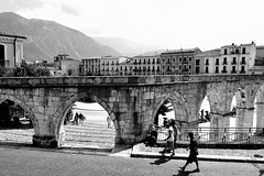 An ordinary day in Sulmona, Italy