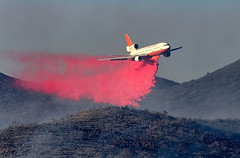 Air Tanker 912 making a Drop on the Anza Fire (Dave Toussaint (www.photographersnature.com)) Tags: california ca travel usa nature canon landscape photo interestingness interesting photographer picture august explore socal adobe getty southerncalifornia rru airtanker adjust 2015 aerialfirefighting mcdonnelldouglasdc10 vlat denoise topazlabs photographersnaturecom davetoussaint riversidecountyfiredepartment 5dmarkiii 10tankeraircarrier riversiderangerunit creativecloud photoshopcc verylargeairtanker tanker912 anzafire calfiregoogle