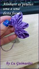 20150813_171930 (Artesanato com amor by Lu Guimaraes) Tags: flor artesanato fuxico pap tecido