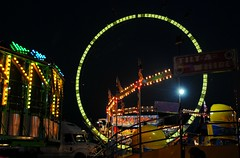 Rides at the Walworth County Fair (Cragin Spring) Tags: summer usa wisconsin night lights midwest unitedstates unitedstatesofamerica fair rides countyfair wi elkhorn blacksky walworthcountyfair elkhornwi walworthcounty elkhornwisconsin