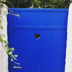 Heart Door (leezen) Tags: coeur bleu porte portnavalo