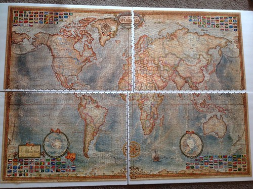 Educa the world executive map 4000 pieces a photo on flickriver educa the world executive map 4000 pieces gumiabroncs Images