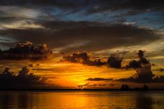 Jack-O-Lantern Sunrise (Tedj1939) Tags: morning sky sun nature clouds sunrise river dawn seascapes predawn indianriver