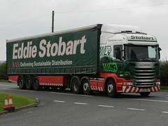 PE64UNR H6887 Eddie Stobart Scania 'Lesley Kaye' (graham19492000) Tags: eddie scania stobart eddiestobart lesleykaye h6887 pe64unr