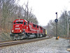 Soo Line on the B&O (Troy A. Snead) Tags: freighttrains sooline colorpositionlights emdsd60 csxpittsburghsubdivision
