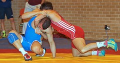 KV8A7194 (on_the_mat_uk) Tags: uk sports canon freestyle mark wrestling competition 7d wrestler wrestle ii welshpool 2015 centre british britishwrestling eos flash juniors onthematuk