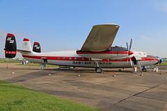 G-ALZO Airspeed AS57 Ambassador Dan Air London Colours Duxford 11th October 2015 (michael_hibbins) Tags: history aircraft aviation duxford museums cambridgeshire iwm