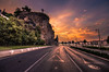 Budapest (Vagelis Pikoulas) Tags: sun sunset street road city cityscape summer 2015 july budapest buda view landscape clouds cloud cloudy colour colours color colorphotoaward colors capital canon 6d tokina 1116mm autoremovedfrom1to5faves