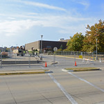Q-lot old entrace closed as of 10/21/15