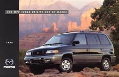 1998 Mazda MPV Sport Utility Van
