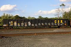 (BombTrains) Tags: road railroad art train bench graffiti paint tag graf rail spray graff freight fr8 tiket csxt reser benching 491815