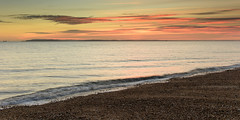 The Beach (Explore 16-11-2016) (Sunset Snapper) Tags: thebeachsunset haylingisland hampshire southcoast uk beach shingle sea sky clouds colourful simplecomposition filter lee nd grad nikon d810 2470mm november 2016 sunsetsnapper