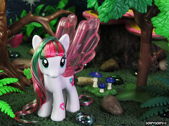 Water Cuties 3 03 (DerpyDerp910) Tags: water toy rainbow lily little blossom mark magic cutie pony dash cuties hasbro mlp mylittlepony my blossomforth derpyderp910