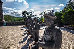 Royal Tomb Statues, Vietnam (Rui P Baio) Tags: city travel architecture temple ancient asia southeastasia buddha buddhist south royal buddhism philosophy literature east traveller vietnam meditation southeast eastern teachings southvietnam indochinahue