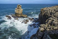 Cabo Carvoeiro (guillenperez) Tags: ocean costa portugal rock landscape coast cabo paisaje atlantic cape peninsula roca oceano atlantico carvoeiro estremadura peniche