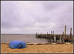 My name is Blue... (The Hitchhiker's Guide) Tags: provincetown capecod massachusetts blueboat