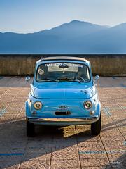 Mezzi di trasporto / Vehicles (Abulafia82) Tags: auto street car strada fiat pentax human moto vehicle 500 fiat500 k5 ingiro veicolo mezzoditrasporto pentaxk5