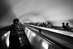 metro de Pyongyang - RPD Corea (pirindao) Tags: blancoynegro photoshop canon photography photo blackwhite asia noir northkorea pyongyang urbanphotography coreadelnorte travelphotography streetphotgraphy northcorea pdrkorea rpdcorea pdrcorea metrodepyongyang
